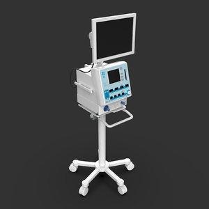 3D icu medical ventilator