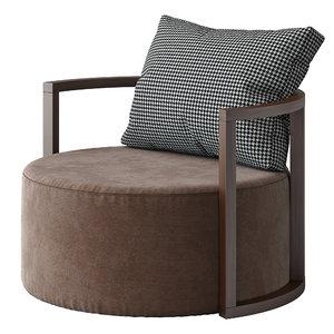 3D model kav armchair