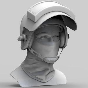 russian assault helmet altyn 3D model