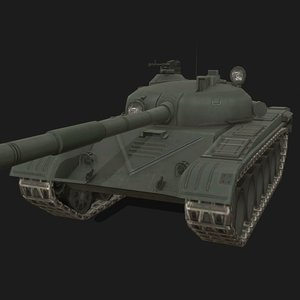 t-72 soviet tank 3D model