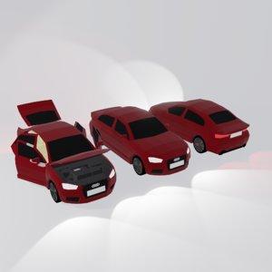 a3 car games 3D model