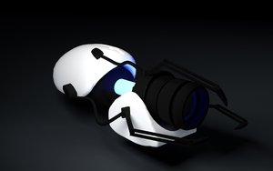 3d model alienware laptop