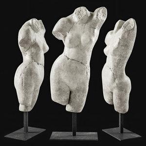 3D sculpture venus