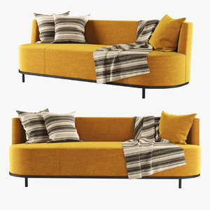 hbf encircle sofa 3D model