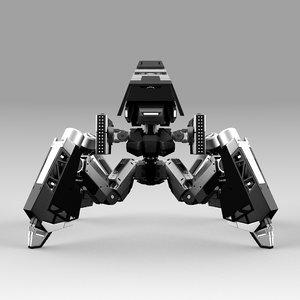 robot quadbot 102f 3D model