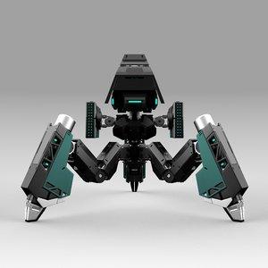 robot tribot 101f 3D model