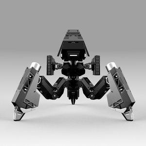 robot tribot 102f 3D