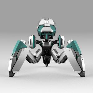 robot tribot 201f 3D