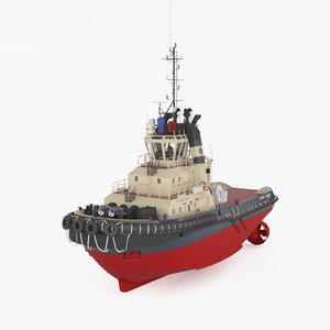 svitzer tugboat tug model
