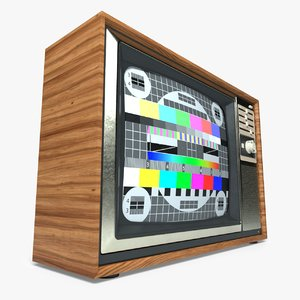 retro tv model