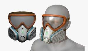 3D mask protection model