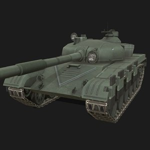 3D t-72 soviet tank