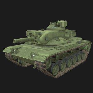 602 tank 3D