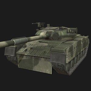 t-80 soviet 3D