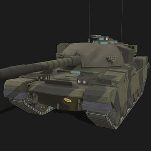 fv4201 chieftain 3D model