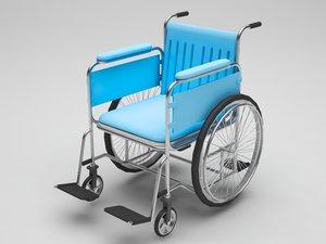 mobile chair b 3D model