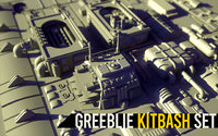 Greeblie Kitbash Set