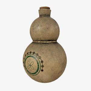 healing gourd pbr model