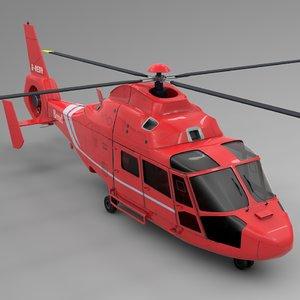 3D model bond airbus dauphin l653