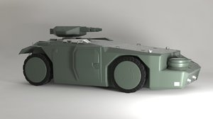m577 apc 3D model