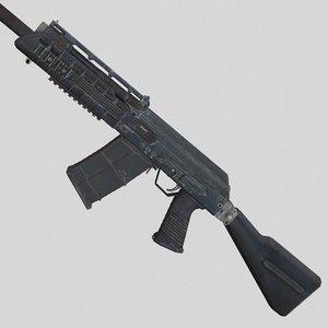 gun weapon model