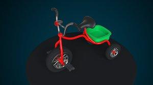 3D bicycle children