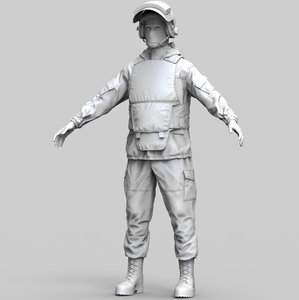 russian special force soldier model