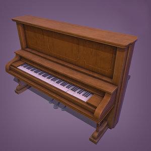 piano games 3D model