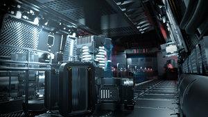 sci-fi props 3D