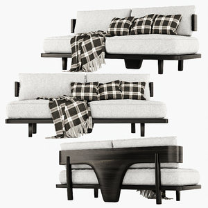 lounge sofa hestia 3D model