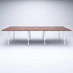 meeting table 3D model