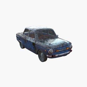 3D car zaz model