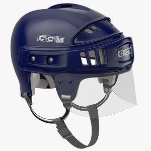 3D model ccm helmet worn
