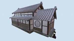 3D dojo pbr japanese