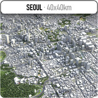 Seoul - city and surroundings