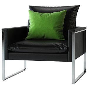 large single sofa model