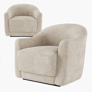 3D djo chair armchair model