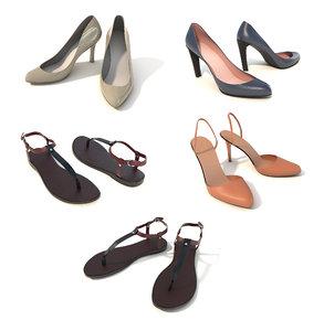 women shoe 3D model