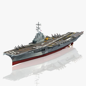 uss shangri-la cvs 38 3D model