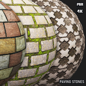 PBR Paving Stones textures