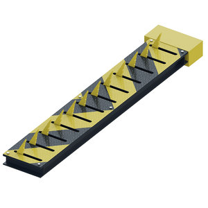 3D road spikes rose