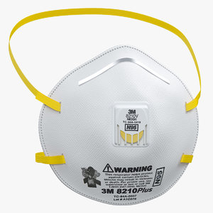 3D 3m particulate respirator mask