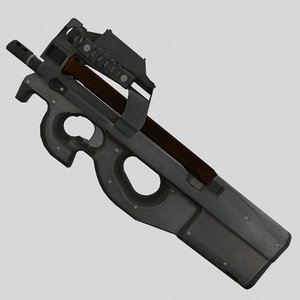 3D p90 model