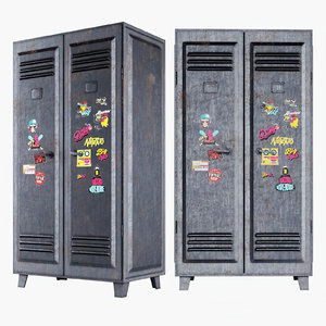 metal locker model
