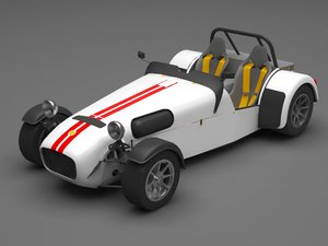 caterham car 3D