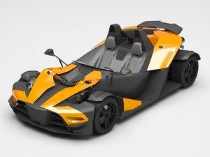ktm x bow 3D model