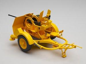 cannon c 3D model