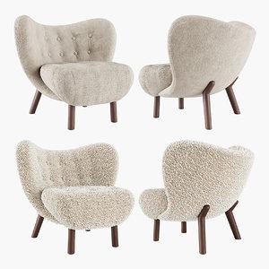 little petra chair 3D model