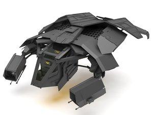 3D bat wing