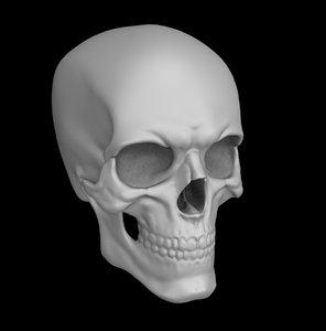3D skull mean